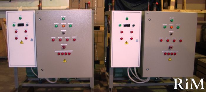 Щиты управления вентиляционными установками щув